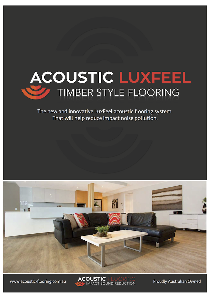 Acoustic LuxFeel Brochure - cover page