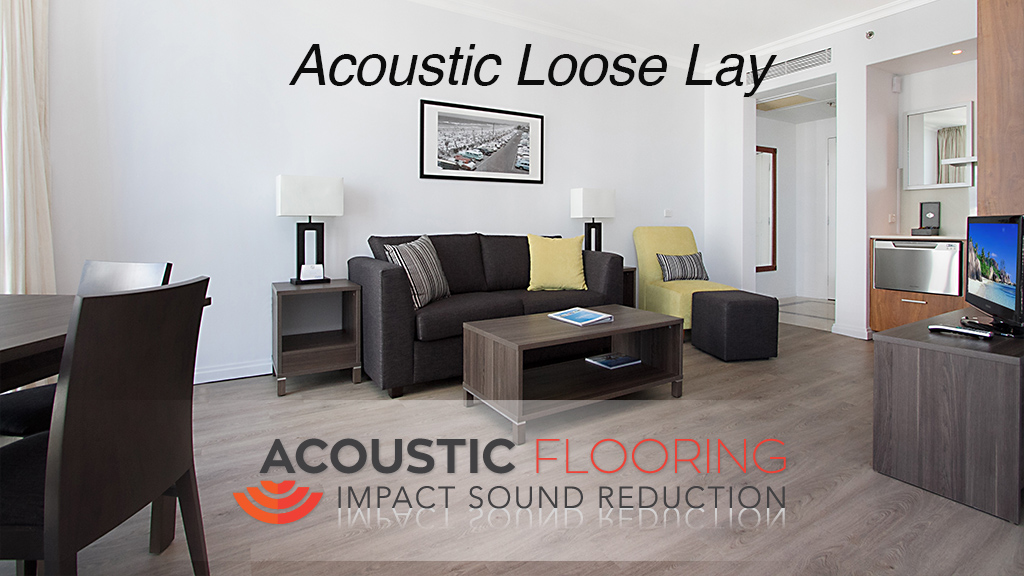 Acoustic loose lay flooring thumbnail logo